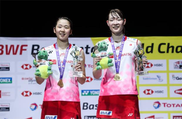 Mayu Matsumoto/Wakana Nagahara able to defense their World Championships title in Basel. (photo: Shi Tang/Getty Images)