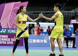 Chan Peng Soon/Goh Liu Ying through to 2019 Chinese Taipei Open semi-final. (photo: AFP)