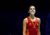 Recovery after an ACL injury is no easy, hope Carolina Marin can stay strong and keep going! (photo: Visual China Group via Getty Images)
