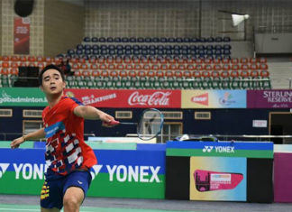 Soong Joo Ven enters Vietnam Open quarters. (photo: AFP)