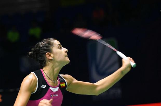 Carolina Marin is looking strong at the China Open. (photo: Xinhua)