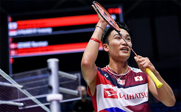 Kento Momota is set to face Chen Long in the China Open semi-final. (photo: Xinhua)