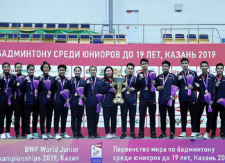 Congratulations to the Indonesian team for winning the 2019 BWF World Junior Mixed Team Championship. (photo: BWF)