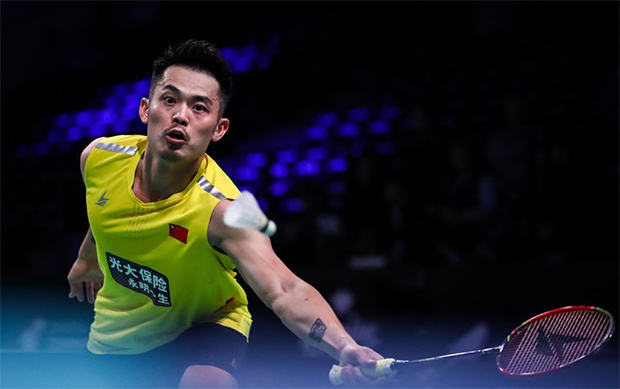 Lin Dan enters the French Open second round. (photo: AFP)