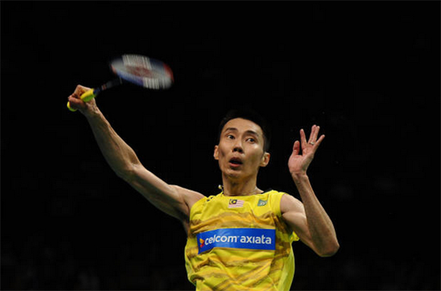 Glad to see Lee Chong Wei back in action again, even if just an exhibition match. (photo: AFP)