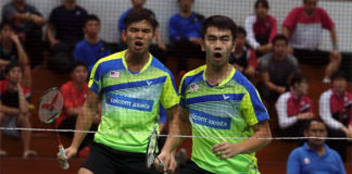 Goh Sze Fei/Nur Izzuddin continue playing well at the Macau Open. (photo: NST)