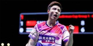 Shi Yuqi is targeting the Macau Open title. (photo: AFP)