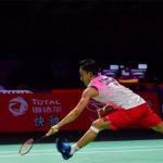 Kento Momota is on course to defend the Fuzhou China Open title. (photo: Xinhua)