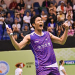 Chou Tien Chen roars past Parupalli Kashyap in Hong Kong Open second round. (photo: Hong Kong Open)