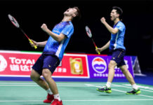Ong Yew Sin/Teo Ee Yi advance to Hong Kong Open quarter-finals. (photo: AFP)