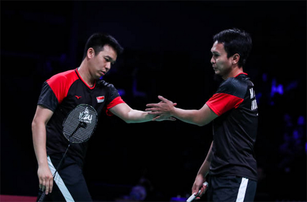 Hendra Setiawan/Mohammad Ahsan show no signs of slowing down. (photo: Shi Tang/Getty Images)