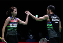 Goh Liu Ying/Chan Peng Soon enter the Korea Masters final eight. (photo: Shi Tang/Getty Images)