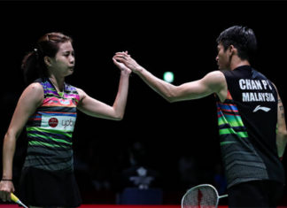 Goh Liu Ying/Chan Peng Soon enter the Korea Masters final eight. (photo: Shi Tang/Getty Images)