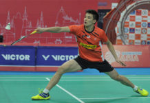 Wish Soo Teck Zhi all the best in Syed Modi International quarter-finals. (photo: AFP)