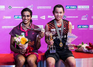 PV Sindhu (L) & Tai Tzu Ying are the two highest-paid players at the 2019-2020 India Premier Badminton League (PBL). (photo: Power Sport Images/Getty Images)