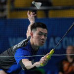 Lee Zii Jia enters the 2019 SEA Games men's singles final. (photo: Mark Cheong)