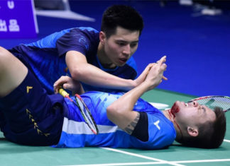 Wish Ong Yew Sin/Teo Ee Yi all the best in their badminton career. (photo: AFP)