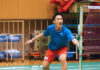 Kento Momota is making his final pushes on the practice before departing to Kuala Lumpur for the 2020 Malaysia Masters. (photo: Yahoo)