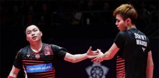 Aaron Chia/Soh Wooi Yik get off to a good start in Malaysia Masters first round. (photo: Bernama)