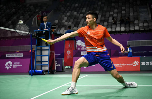 Daren Liew makes the Malaysia Masters first round. (photo: AFP)