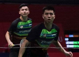 Ong Yew Sin/Teo Ee Yi are having a strong run at 2020 Malaysia Masters. (photo: Bernama)
