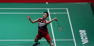 Kento Momota continue strong run at Malaysia Masters. (photo: Shi Tang/Getty Images)