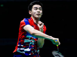 Cheam June Wei is playing extremely well at the 2020 Badminton Asia Team Championships. (photo: Visual China Group via Getty Images)