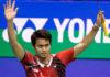 Tontowi Ahmad may soon be retiring from badminton.(photo: AFP)