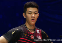Lee Zii Jia couldn't believe he was faulted by the umpire at the very crucial moment of the match.