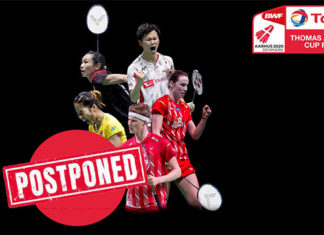 Wish all the badminton fans take good care of their health and safety.