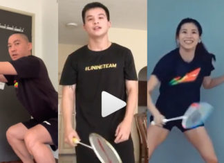 Fun badminton things to do at home while you're stuck at home during coronavirus lockdown.