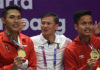 Wish Hendry Saputra (middle) a speedy recovery. (photo: Ozk)