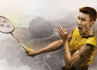 Lee Chong Wei demonstrates capable leadership in times of crisis. (photo: Lee Chong Wei's Facebook)