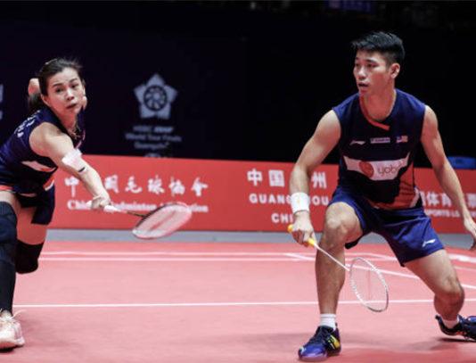 Goh Liu Ying/Chan Peng Soon receive contract extension with Li-Ning. (photo: AFP)
