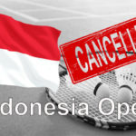 BWF suspends all tournaments until July due to coronavirus outbreak.