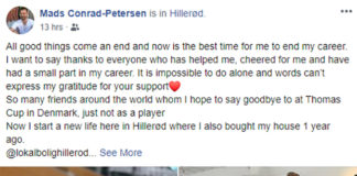 Wish Mads Conrad-Petersen much success and happiness as he begins a new chapter in his life. (photo: Mads Conrad-Petersen's Facebook - https://www.facebook.com/mads.conradpetersen)