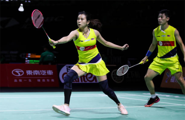 Chan Peng Soon/Goh Liu Ying are looking forward to training at the Academy Badminton Malaysia facility.(photo: AFP)