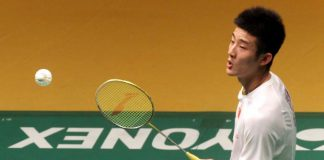 Chong Wei's biggest threat Chen Long sent packing
