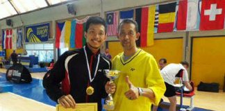 Ramdan will play in the Thomas Cup Finals selection trial on Friday.