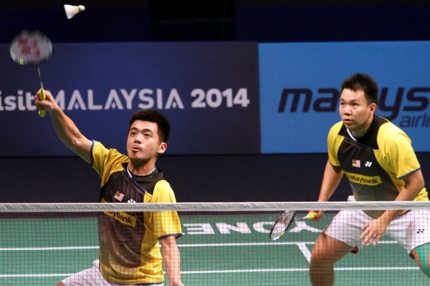 Hoon Thien How (right) and Tan Wee Kiong are now the highest ranked Malaysian pair at No.7.