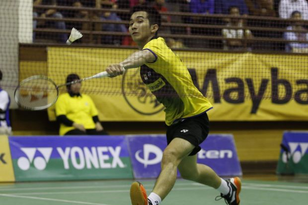 Chong Wei Feng in a file photo. He went down to Lee Chong Wei 6-21, 12-21 in the All-England second round in just 35 minutes.