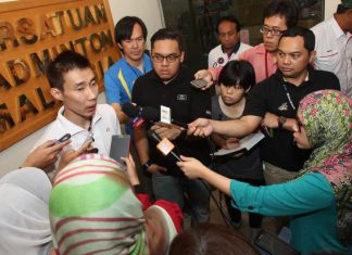 Lee Chong Wei has decided to play until 2016 Olympic