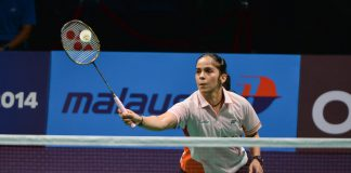 Saina Nehwal was knocked out of women's singles quarter-final in India Open
