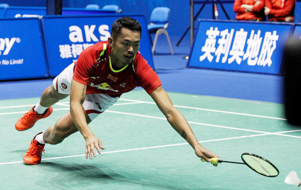 Lin Dan is back!