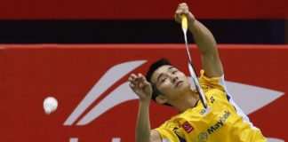Chong Wei Feng plays a key role in stabalizing Malaysia's performance in the Thomas Cup Finals