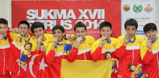 It was a thriller all the way, but in the end it was Selangor who turned out to be the heroes as they edged Penang 3-2 in the men's badminton team final to claim the gold medal.