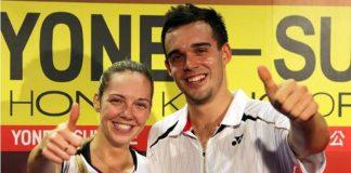Adcock couple in England badminton team