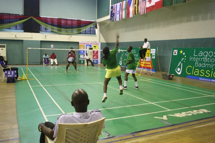 South Africa and Nigeria are two strong badminton countries from Africa