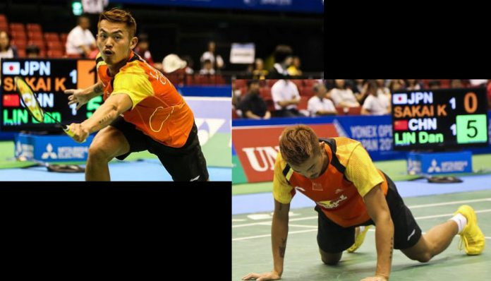 Japan Open: Lin Dan will play Xue Song who are also from China on Wednesday.