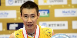Lee Chong Wei is the most successful badminton players on Japanese soil by winning 2007, 2010, 2012, 2013, 2014 Japan Open titles.